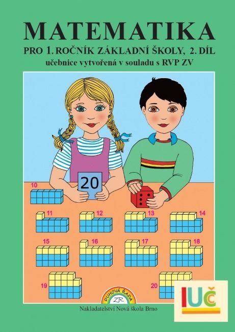 Matematika 1. r. 2. díl - učebnice