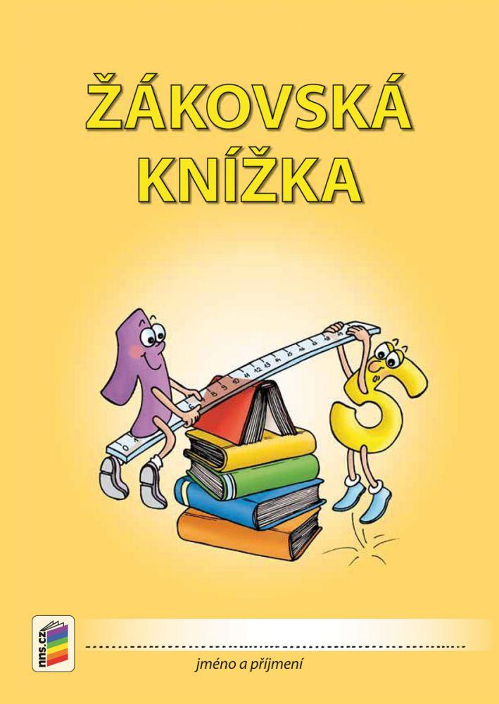 Žákovská knížka pro 3. -9. r. oranžová