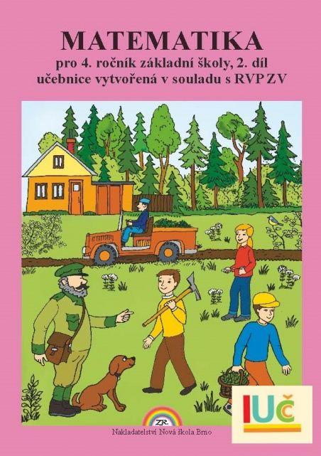 Matematika 4. r. 2. díl - učebnice