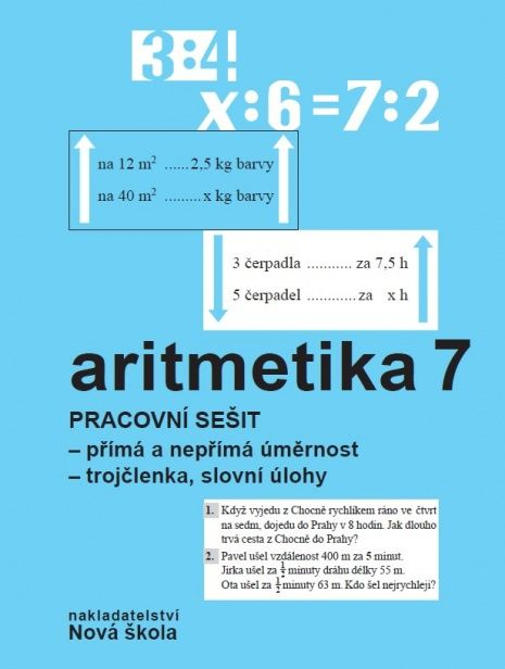Aritmetika 7. r. - pracovní sešit