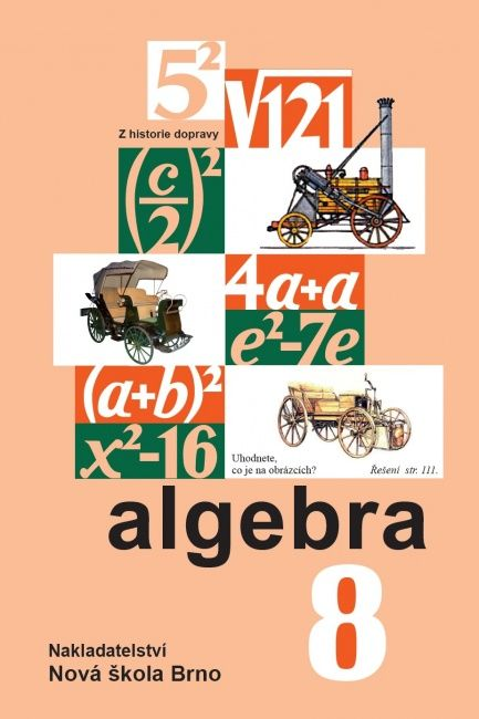 Algebra 8. r. - učebnice