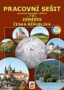 Zeměpis 8. r. 2. díl Česká republika - barevný pracovní sešit
