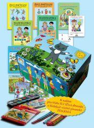 Balíček pro prvňáčka - sada učebnic a školních potřeb
