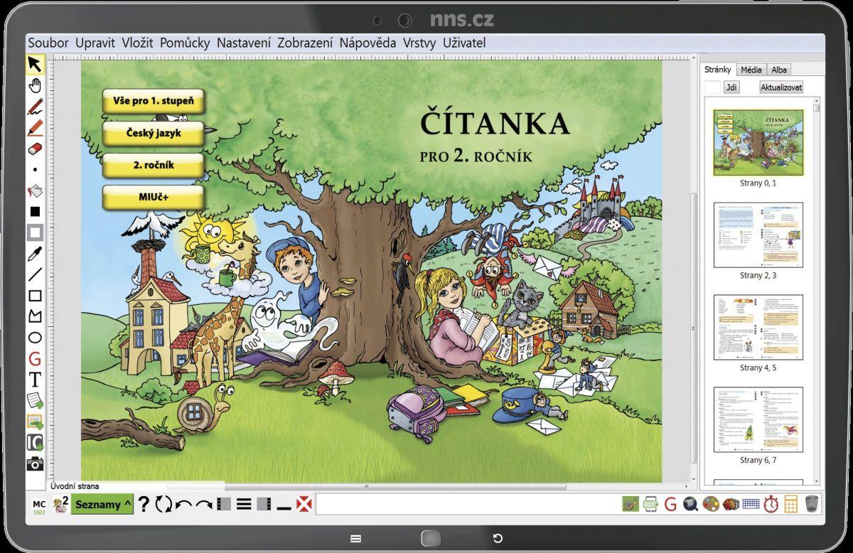 MIUČ Čítanka 2. r. - školní multilicence na 1 školní rok