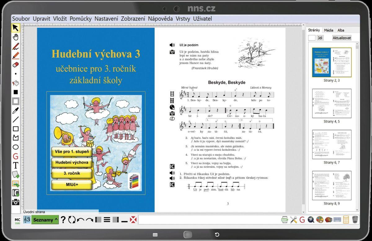 MIUČ Hudební výchova 3 - časově neomezena