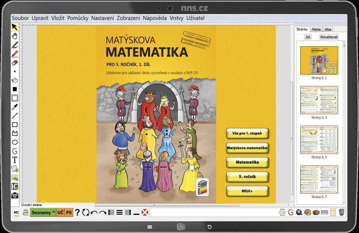 MIUČ Matýskova matematika 5. r. 1., 2. díl a Geometrie - školní multilicence na 1 školní rok