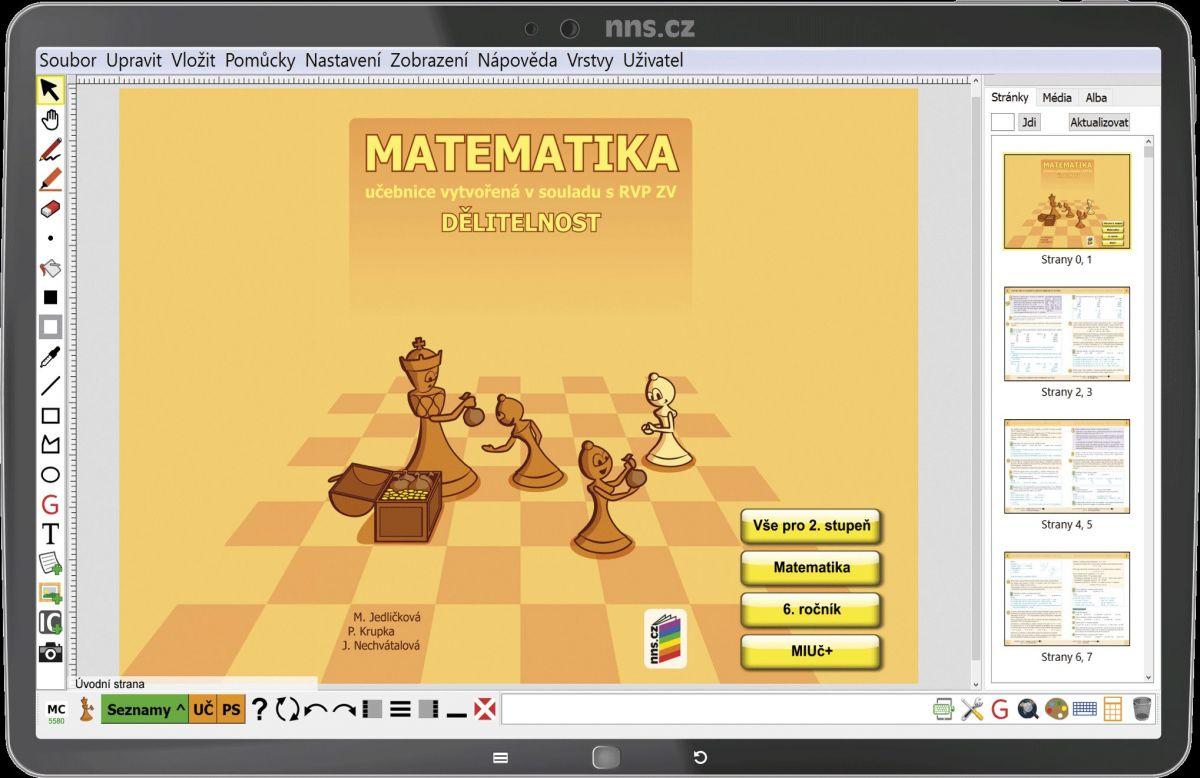 MIUč Matematika - Dělitelnost - časově neomezená školní multilicence