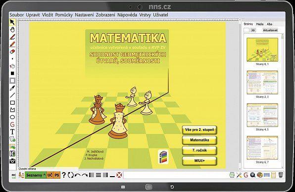 MIUč Matematika - Shodnost geom. útvarů - časově neomezená