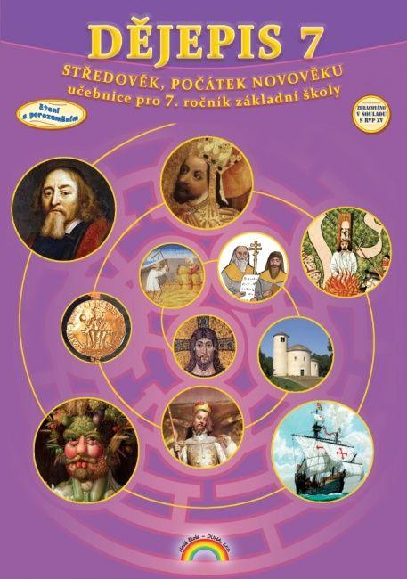 Dějepis 7. r. - učebnice