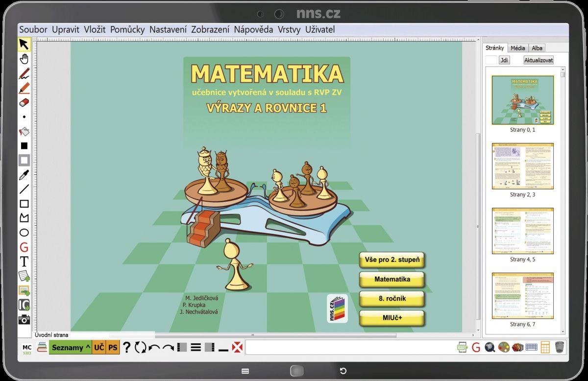 MIUč Matematika - Výrazy a rovnice 1 - školní multilicence na 1 šk. rok