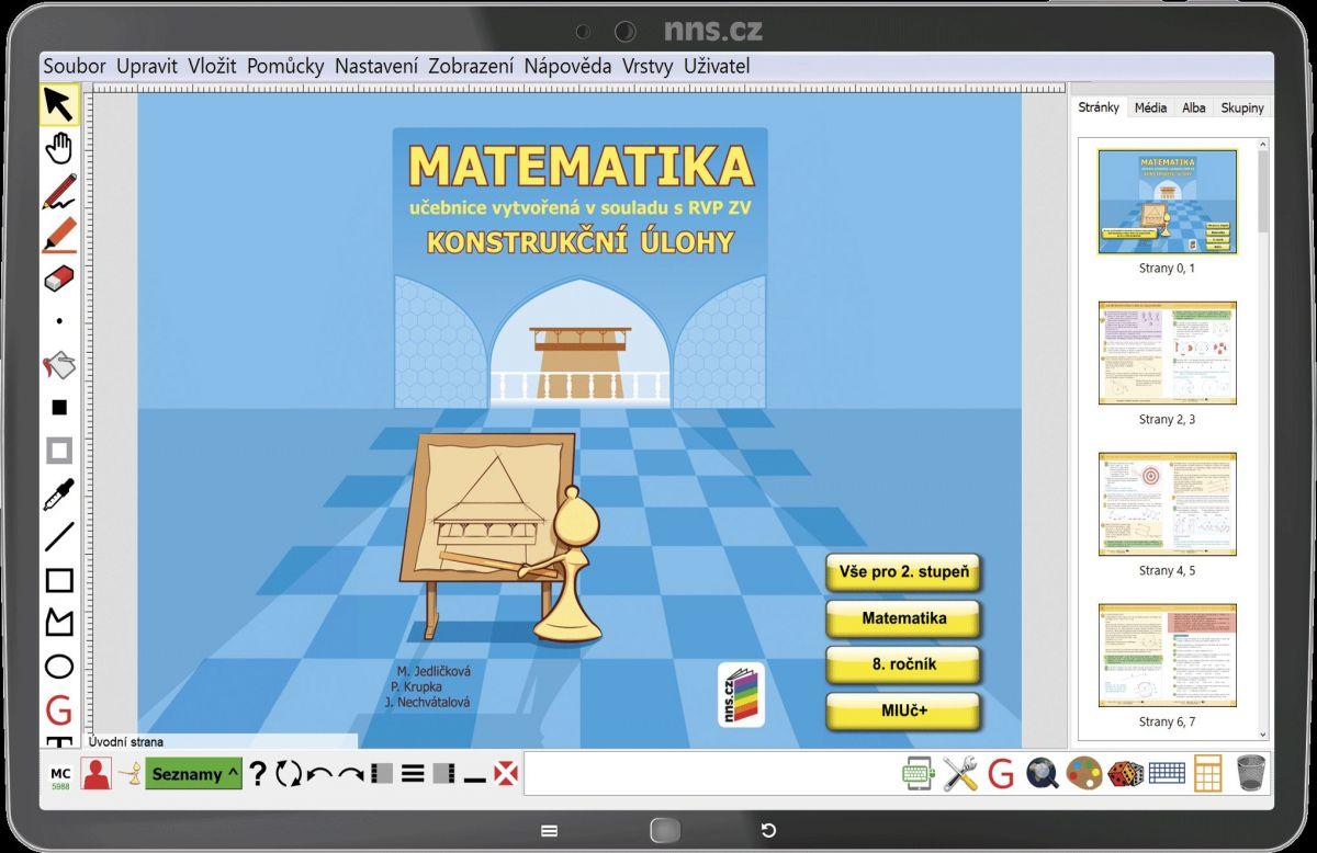 MIUč Matematika - Konstrukční úlohy - školní multilicence na 1 šk. rok