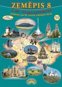 Zeměpis 8. r. Česká republika - učebnice