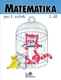 Matematika 1. r. - 2. díl pracovní učebnice