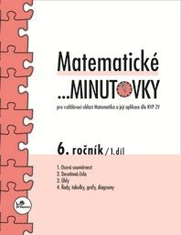 Matematické... minutovky 6. r. 1. díl