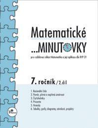 Matematické...minutovky 7. r. 2. díl