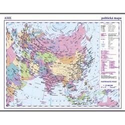 Asie - politická mapa 1: 35 000 000