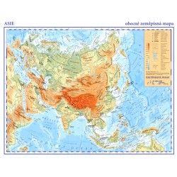 Asie - OZ mapa 1: 35 000 000