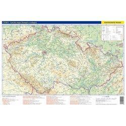 Česko - příruční mapa