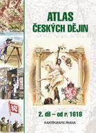 Atlas českých dějin - 2. díl od r. 1618