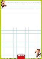 Stíratelná tabulka - nevázané písmo