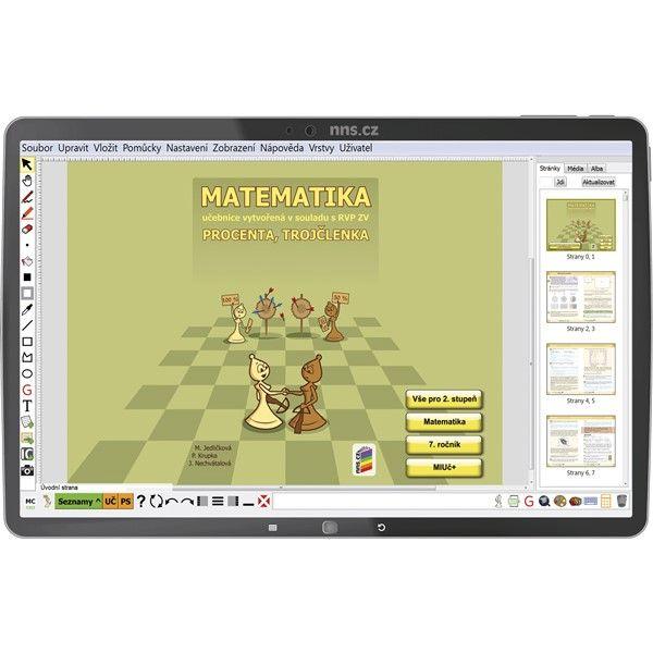 MIUČ Matematika - Procenta, trojčlenka - na 1 školní rok