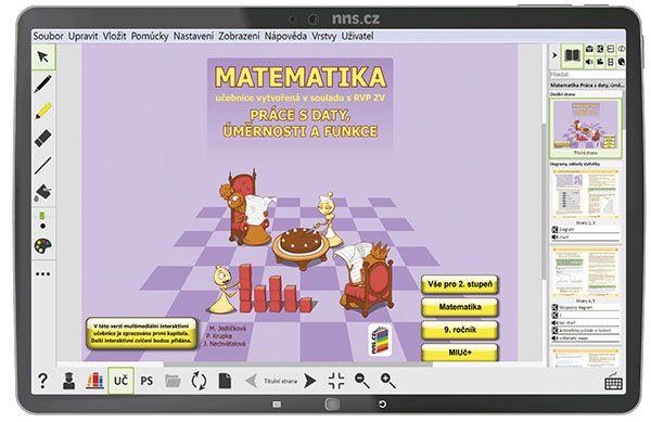 MIUČ Matematika - Práce s daty, úměrnosti - na 1 šk. rok